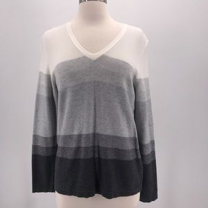 Tommy Hilfiger Gray Ombré Sweater